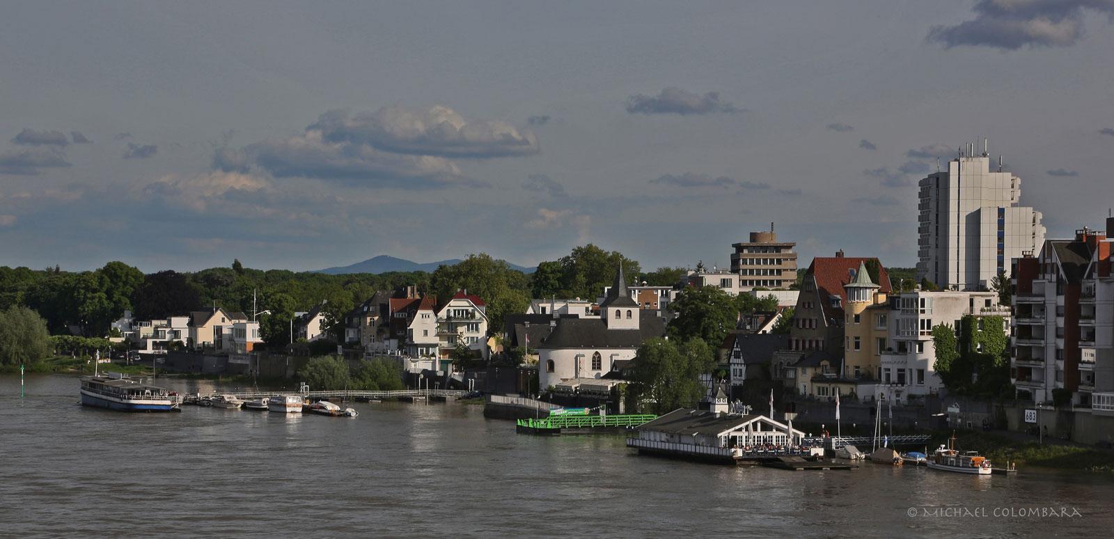 Köln Rodenkirchen am Rhein