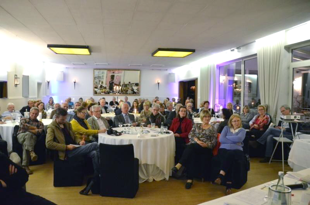 Gut besuchte Mitgliederversammlung 2015 – Rita Süssmuth