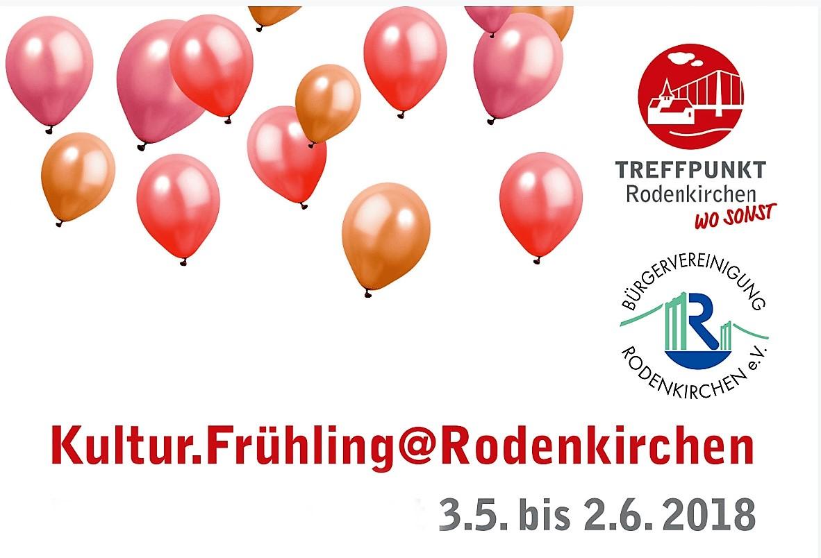 Es wird turbulent: Der sechste Kulturfrühling 2018 in Rodenkirchen