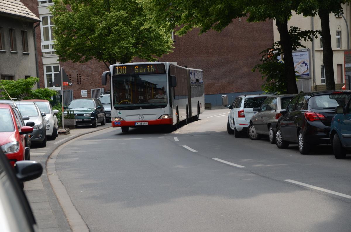 Stellungnahme: Geplante zusätzliche Busangebote in Rodenkirchen, Weiß, Sürth, Sürther Feld