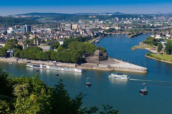 Tagesfahrt nach Koblenz am 23.9.2018