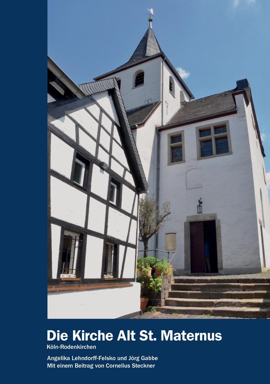 Bürgervereinigung Rodenkirchen mit neuer Broschüre über Kirche Alt St. Maternus