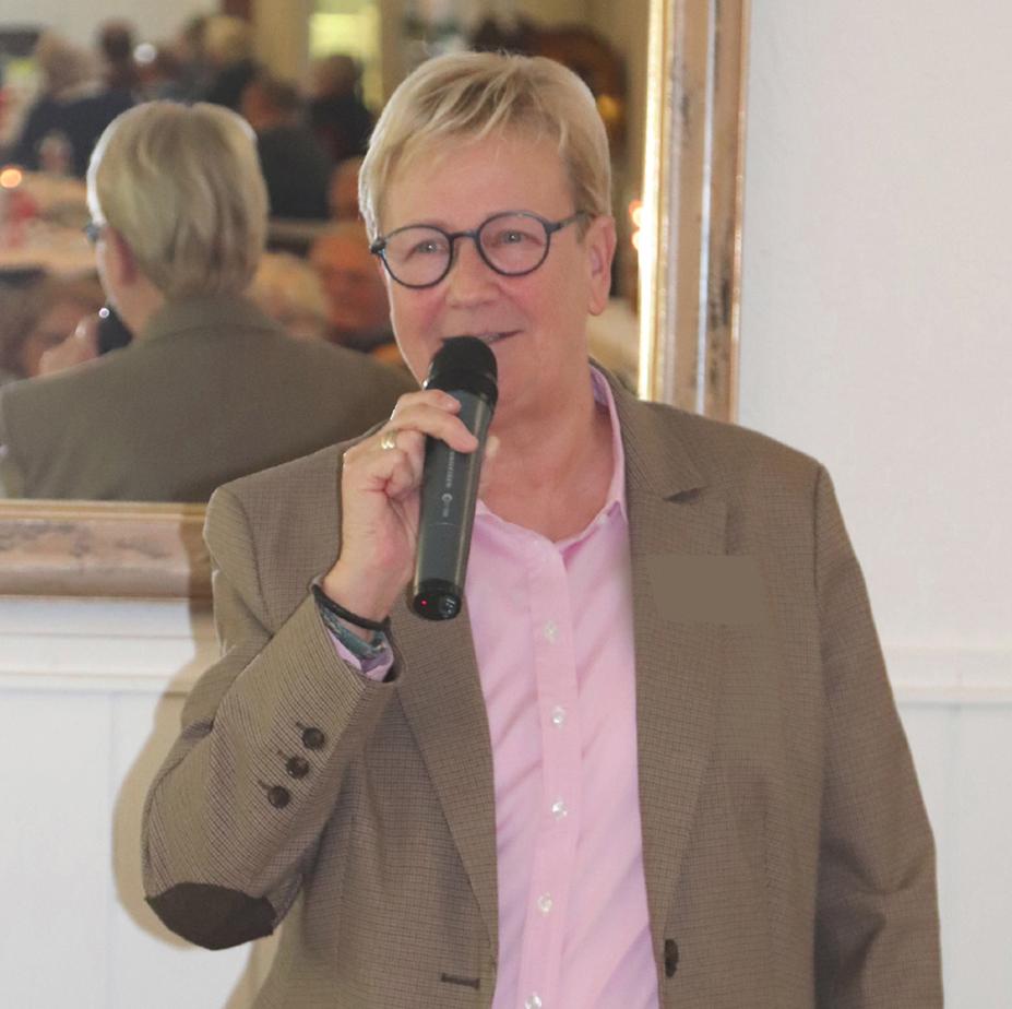 Neu im Vorstand Désirée von Hinckeldey