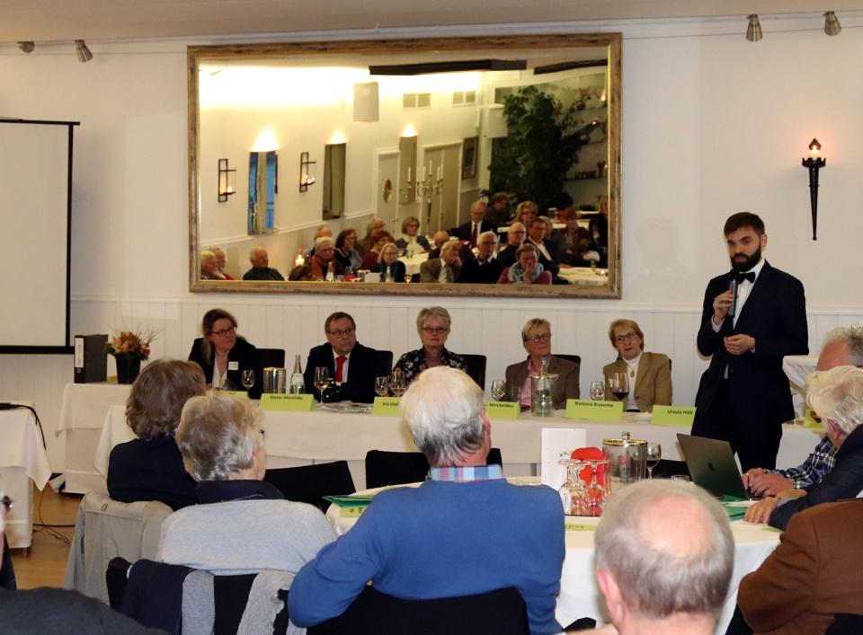 Mitgliederversammlung Gastredner Wawrzyniak