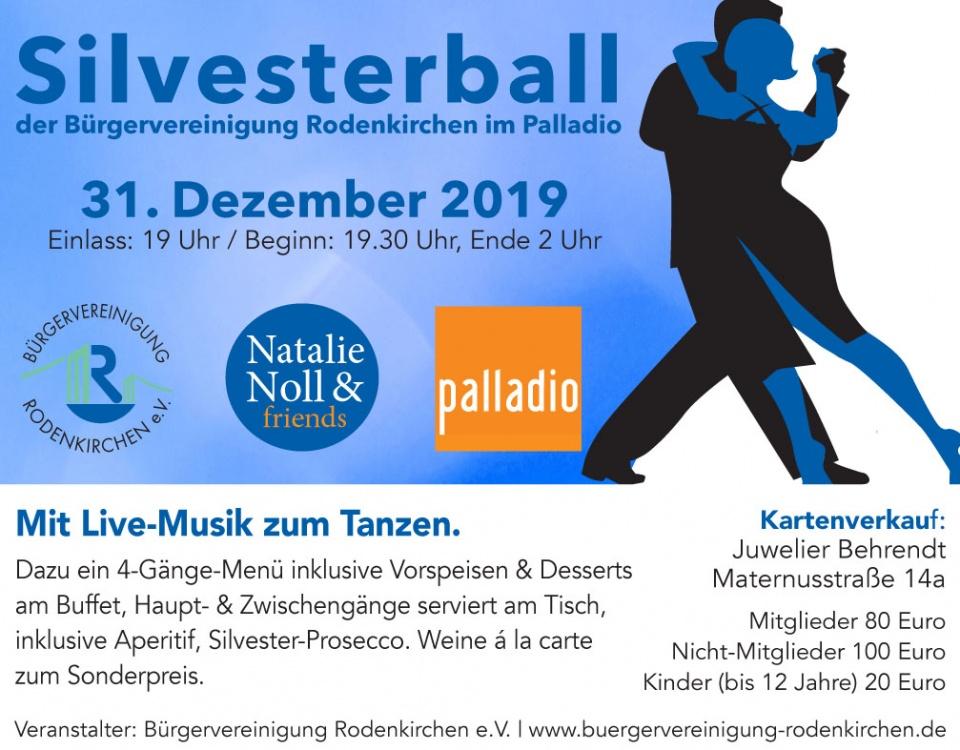 Silvesterball 2019 Bürgervereinigung Rodenkirchen