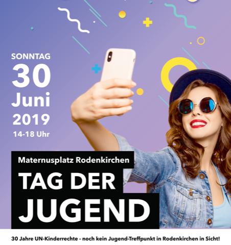 Tag der Jugend in Rodenkirchen am 30. Juni 2019