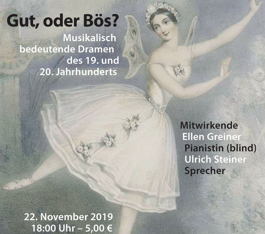 Benefizkonzert am 22. November 2019 in Rodenkirchen