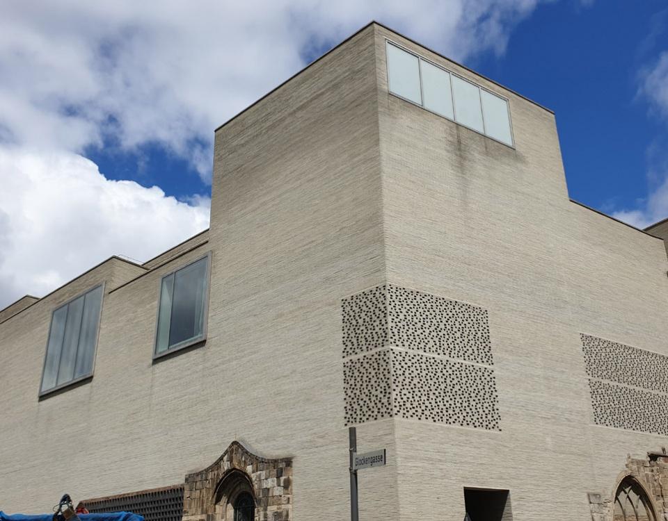 Kolumba Museum von außen und innen bestaunen