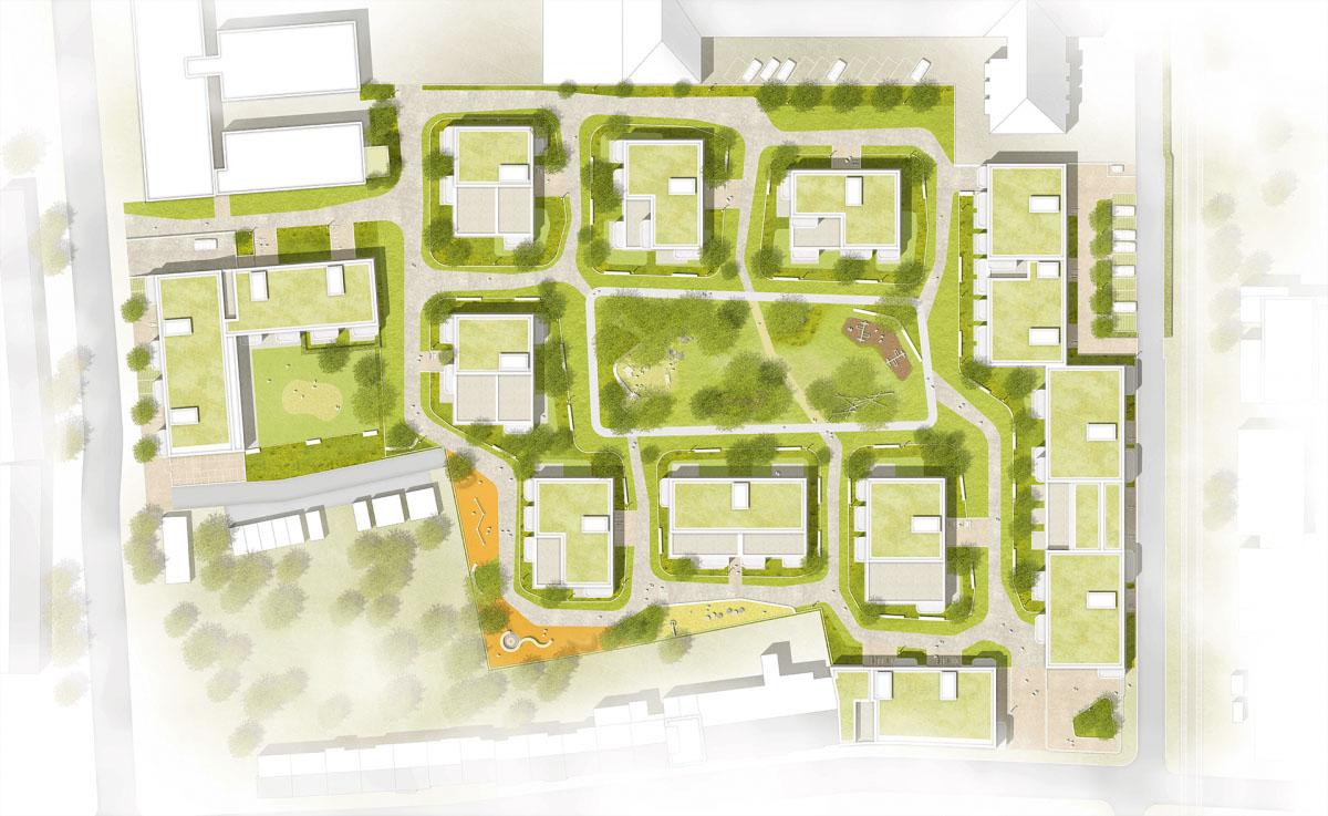 Bürgerinformation am 26.9.19 zum Bauprojekt Waldviertel in Rodenkirchen