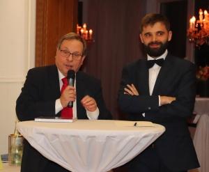 Auf dem Neujahrsempfang 2020 werden Dieter Maretzky, Vorsitzender Bürgervereinigung Rodenkirchen und der Generalkonsul der Republik Polen, Jakub Wawrzyniak, sprechen