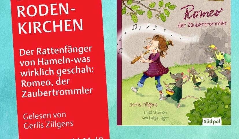 Gerlis Zillegens liest für Kinder im Lesefest in Rodenkirchen