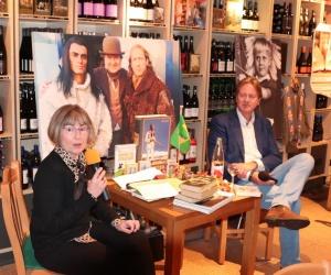 Beatrix Polgar-Stüwe las Winnetou auf Ungarisch