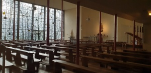 In der Kirche St. Maria Königin