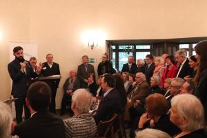 Konsul Jakub Wawrzyniak bei seiner Ansprache au dem Neujahrsempfang 2020