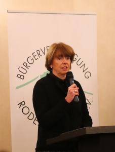 Henriette Reker, Oberbürgermeisterin Stadt Köln spricht auf dem Neujahrsempfang 2020