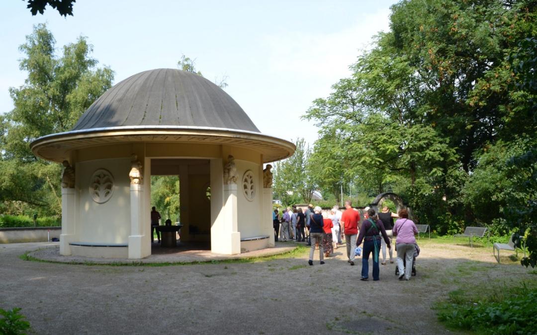 Ausgebucht – Führung denkmalgeschützte Siedlung Volkspark mit englischer Gartenstadt am 26. Juli