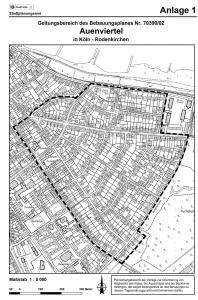 Neuer Bebauungsplan Auenviertel Rodenkirchen