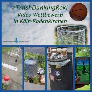#TrashDunkingRoki ist ein Video-Wettbewerb gegen Müllsünden