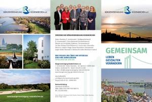 Neuer Flyer Bürgervereinigung Rodenkirchen e.V.