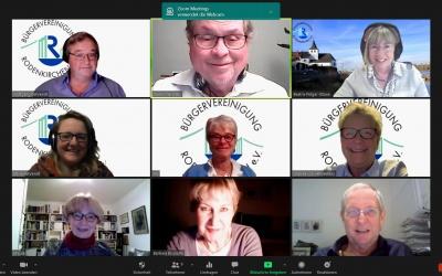 Gelungene Premiere: Erste digitale Mitgliederversammlung der Bürgervereinigung Rodenkirchen