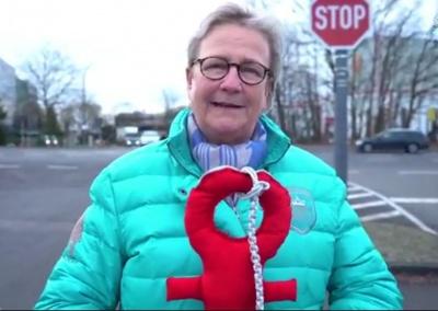 Désirée von Hinckeldey Neujahrsempfang Video
