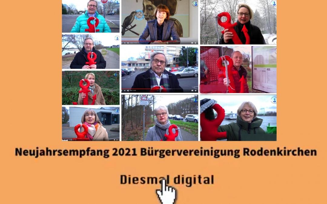 Neujahrsempfang 2021 im Video