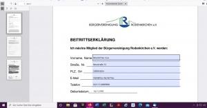 Mitglied werden bei der Bürgervereinigung Rodenkirchen e.V.