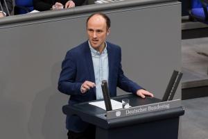 Sven Lehmann MdB zu Gast im Bürgertreff am 27.5.2021