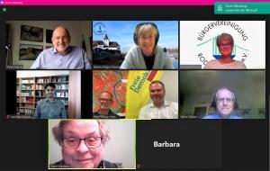 Am 1. Juli fand ein digitaler Bürgertreff mit Kommunalpolitikern der FDP statt.