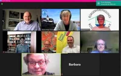 Digitaler Bürgertreff mit FDP-Kommunalpolitikern