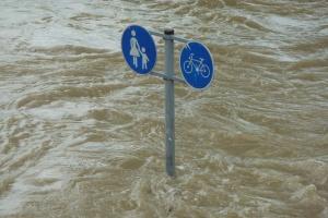 Hochwasserkatastrophe Erfstadt im Juli 2021